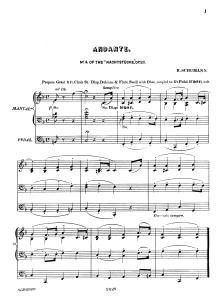 Schumann op. 23,4-Orgel